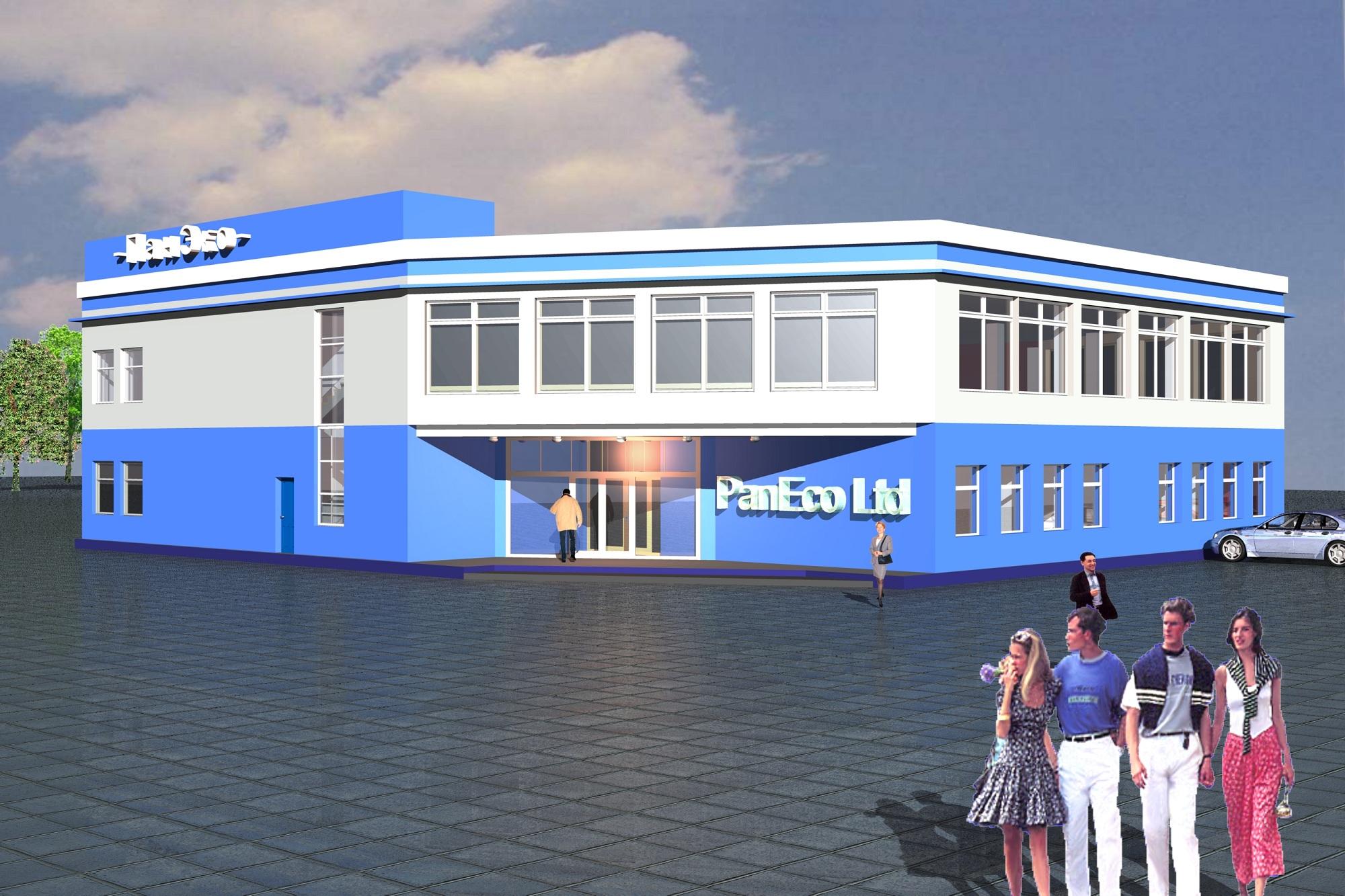Строительство административно-производственного здания по адресу: МО, Ленинский р-он, д. Горки