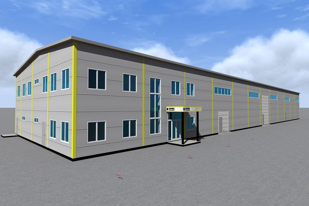 Строительство центра по обслуживанию горношахтного оборудования по адресу: Республика Коми, г. Воркута, ул. Славянская
