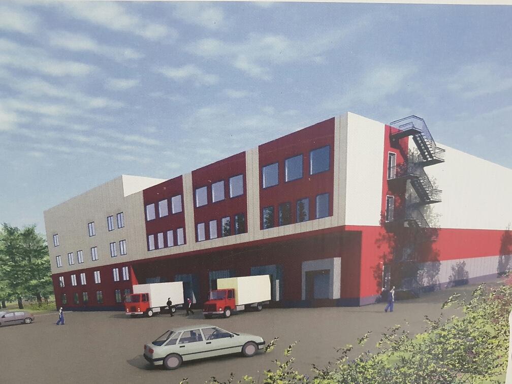 Строительство административно-складского комплекса по адресу: МО, г. Химки