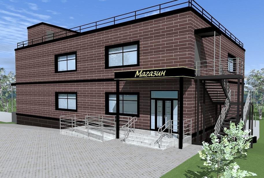 Строительство магазинов