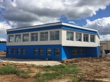 Строительство вспомогательных - административных помещений