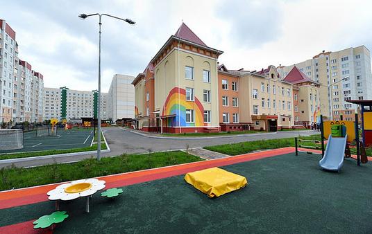 Строительство детских учреждений