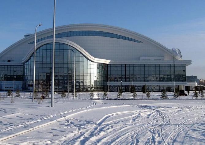 Строительство ледовых арен