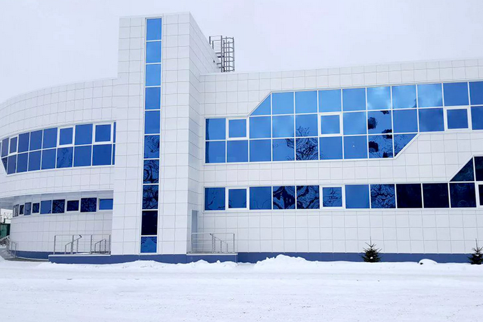 Строительство ледовых комплексов