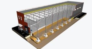 Проектирование быстровозводимых складов