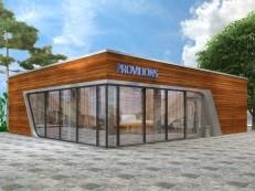 Проектирование торговых павильонов