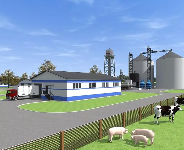 Проектирование сельскохозяйственных зданий