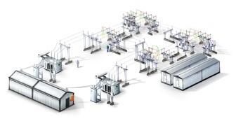 Проектирование электро - и трансформаторных подстанций