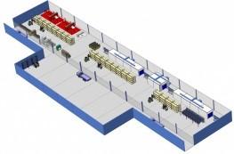 Проектирование цехов и рабочих участков