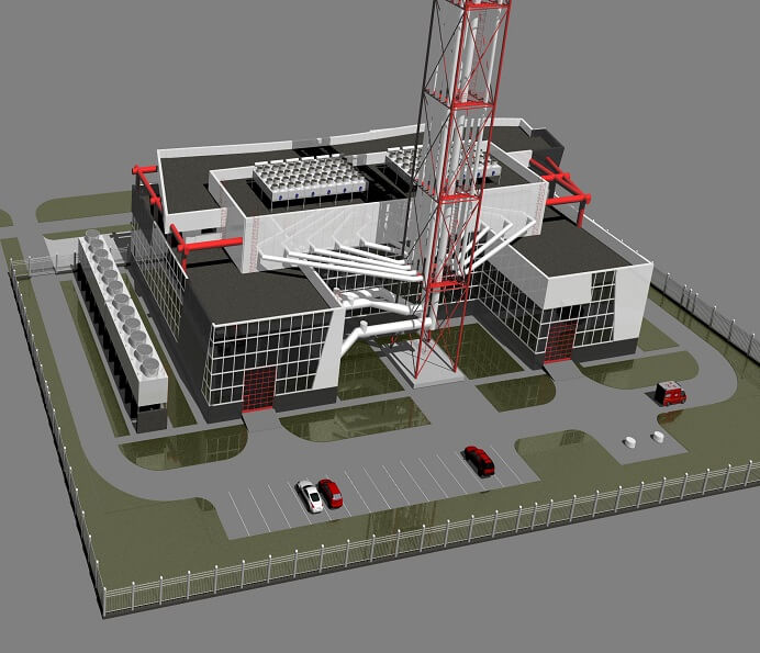 Админ-здание 'Газ'