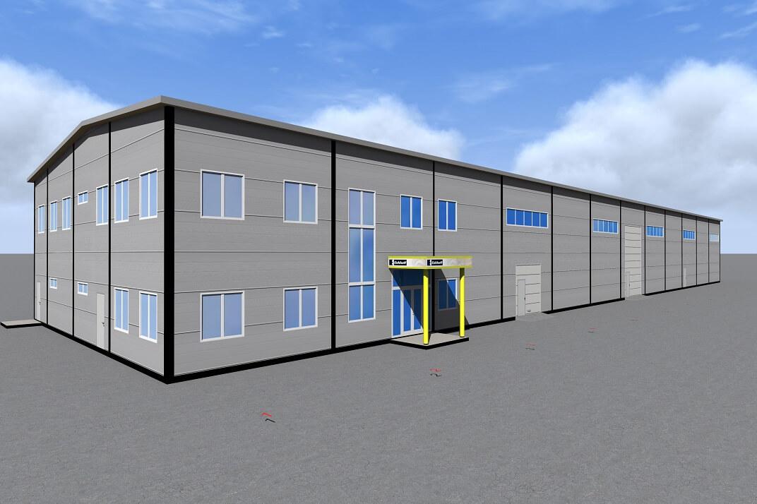 Сервисный центр по обслуживанию горношахтного оборудования