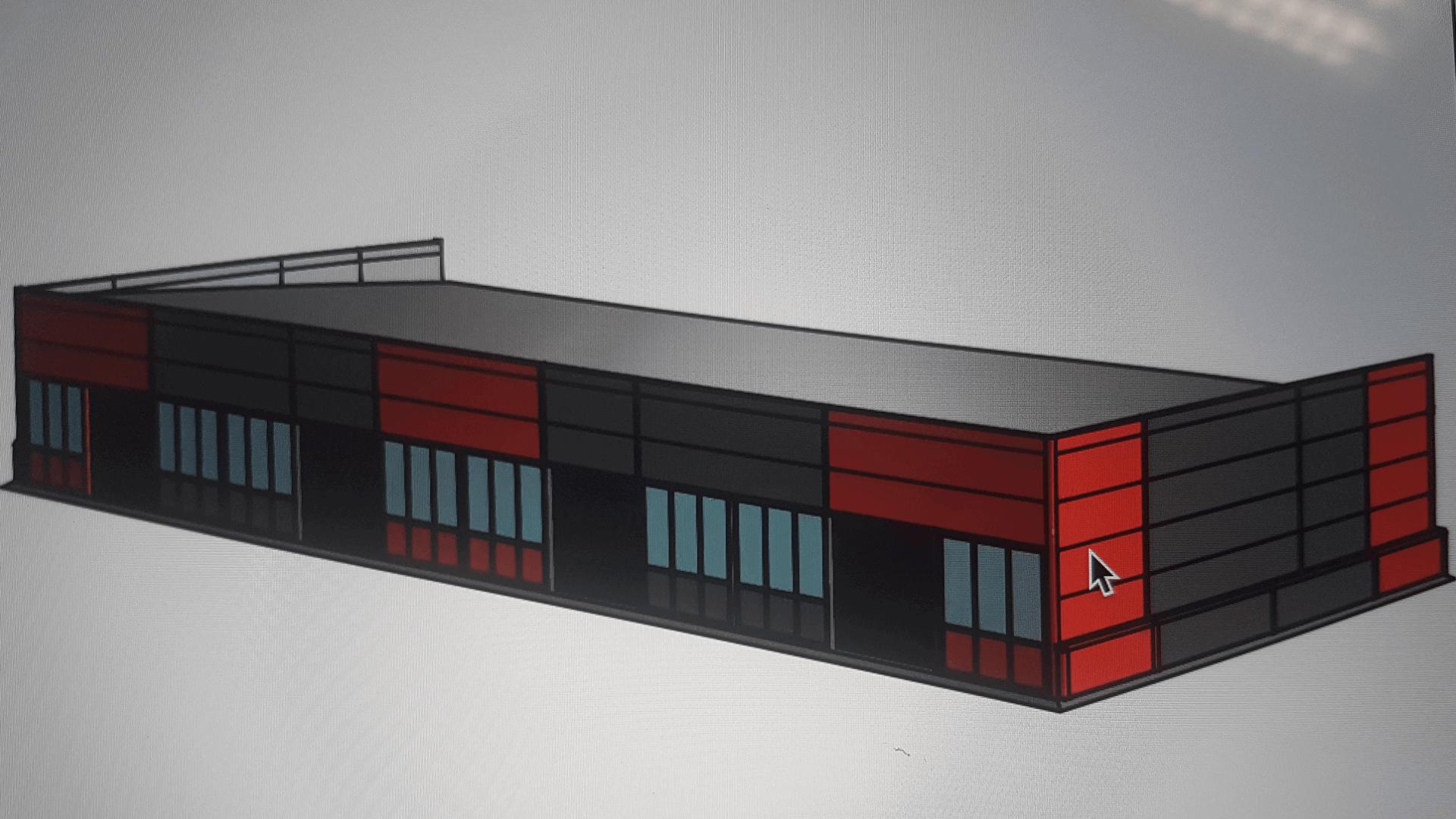 Строительство торгового павильона по адресу: МО, Чеховский район, д. Манушкино